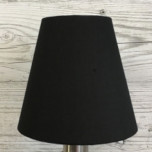 Clip On Candle Shade Black